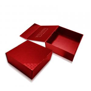 Flip cover type box