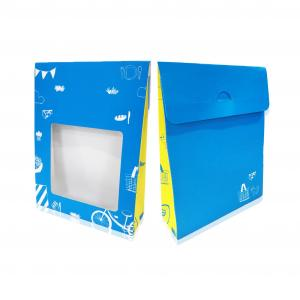 Window gift packing box